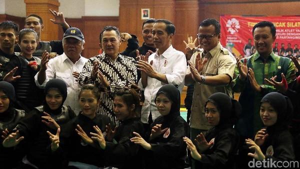 Jokowi Pede Pencak Silat jadi Lumbung Emas di Asian Games