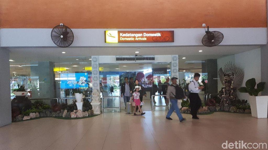 Pasca Gempa Lombok 7 SR, Bandara Bali Pagi Ini Tetap Ramai
