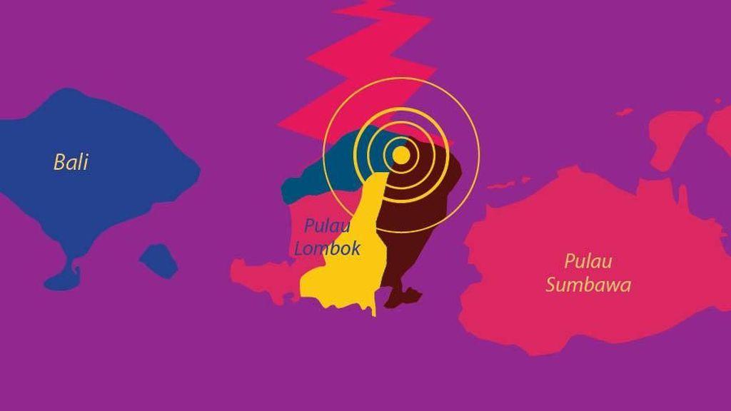 Gempa Lombok: 91 Orang Tewas, Ratusan Luka, Ribuan Mengungsi