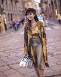 Jamie Chua merupakan pengusaha sekaligus sosialita asal Singapura. Dia suka jalan-jalan. (ec24m/Instagram)