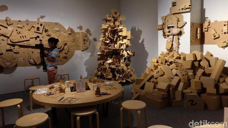 Gatot Indrajati Ajak Berimajinasi di Ruang Seni Anak Museum MACAN