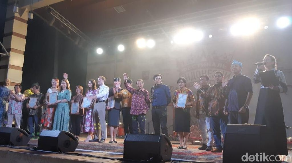 Lampaui Target, 135 Ribu Orang Kunjungi Festival Indonesia di Moskow