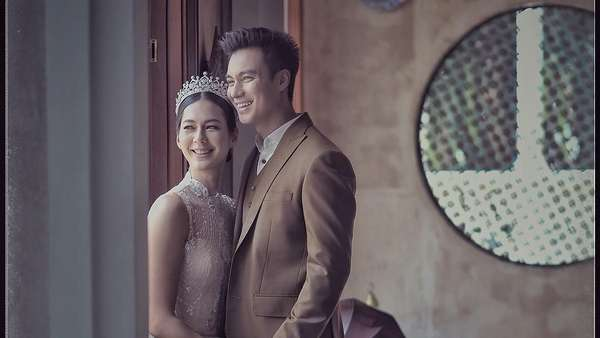 Tak Pakai Sepatu, Ini Hasil Foto Prewedding Baim Wong dan Paula