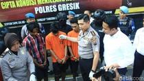 Jelang Asian Games, Puluhan Penjahat Jalanan Diringkus di Gresik
