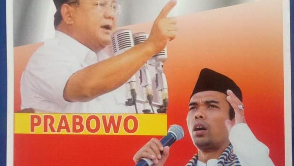 UAS Menguat Jadi Cawapres, Hanura: Tak Jamin Pemilih Coblos Prabowo