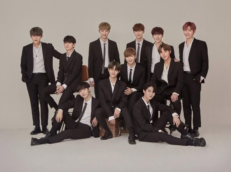 Foto: Wanna One (dok. Twitter/Wanna One)