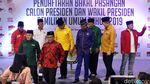 KPU Disambangi Sekjen Parpol Pro-Jokowi