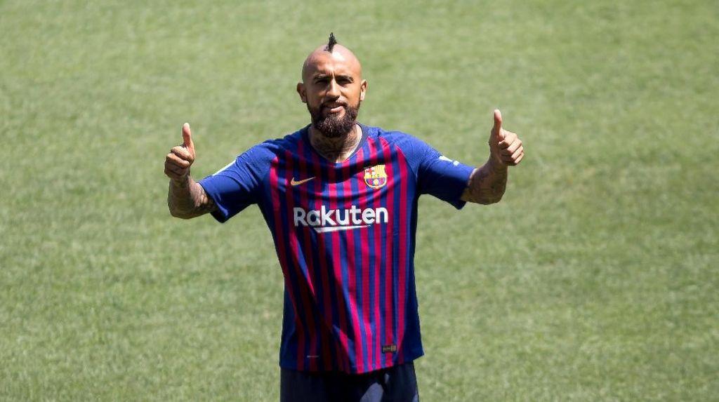 Tak Cuma Satu, Vidal Incar Tiga Gelar Liga Champions bersama Barca