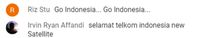 Komentar Netizen di Peluncuran Satelit Merah Putih