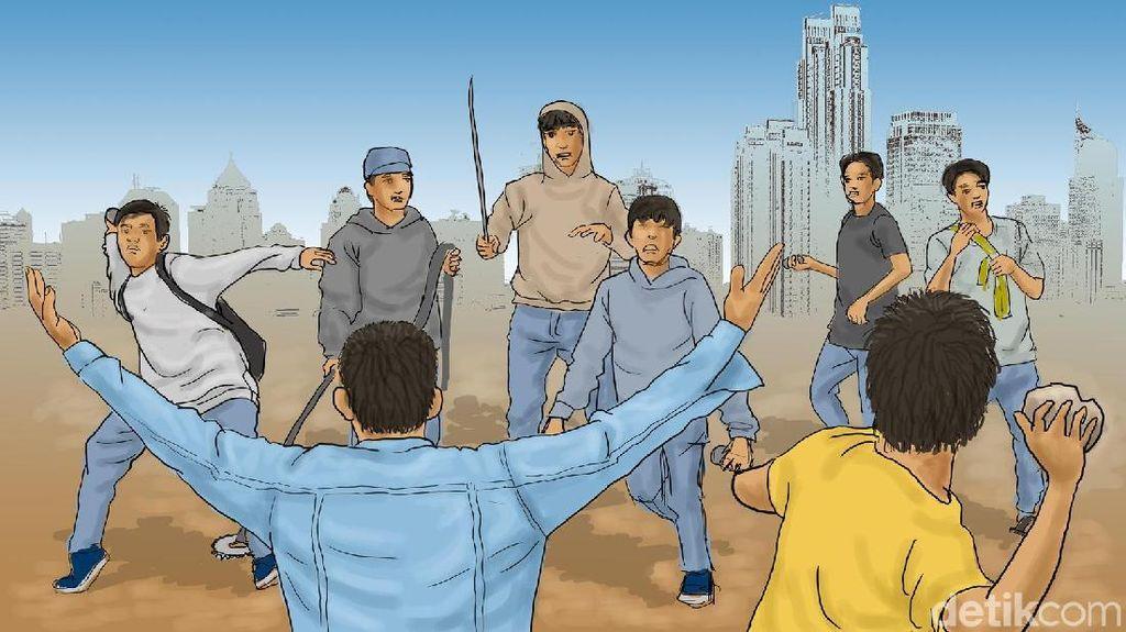 Viral Video Aksi Tawuran di Karawang, Polisi: Kejadian Itu Tak Benar