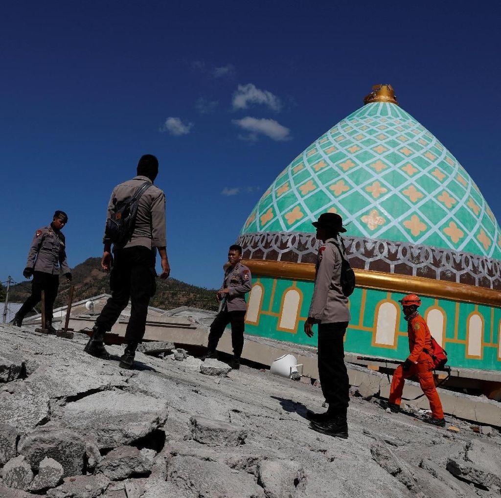 Polisi Ungkap Jejaring Korupsi Dana Rehab Masjid Terdampak Gempa NTB