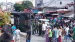 Ini Penampakan Panser Tarantula yang Terguling di Ambon