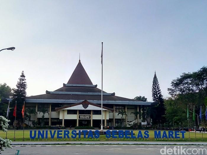 Universitas Sebelas Maret (UNS) Surakarta, Selasa (7/8/2018).