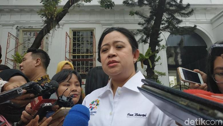Disebut Jadi Ketua Timses Jokowi, Puan: Fokus Menko PMK Dulu Deh