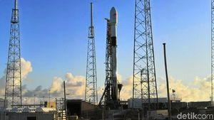 Satelit Merah Putih Pakai Roket SpaceX Hemat Duit 40%