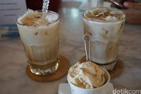 Es kopi dan gelato (Shinta/detikTravel)