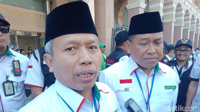 Dirjen Penyelenggaraan Haji dan Umrah (PHU) Nizar Ali