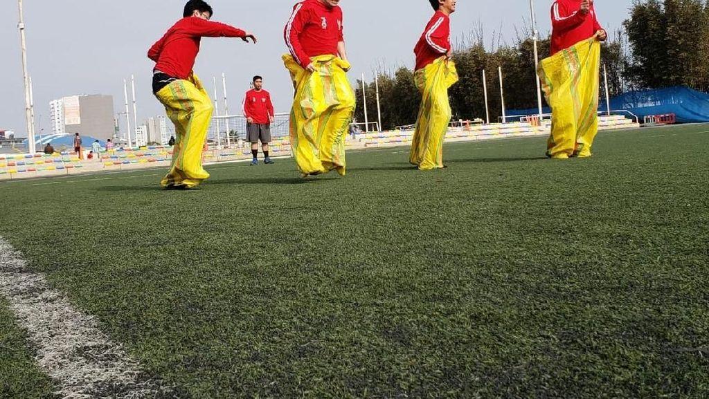 Semarak Hari Olahraga Menyambut HUT RI ke-73 di Peru