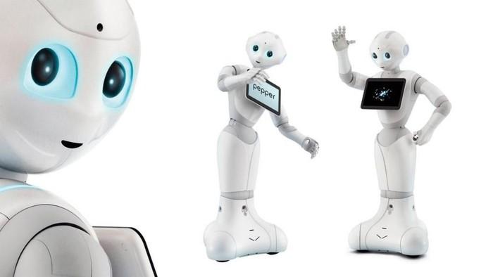 Apa yang terjadi jika kecerdasan buatan menjadi rekan kerja kita di masa depan? Apakah wujudnya akan seperti robot-robot ini? Foto: Internet