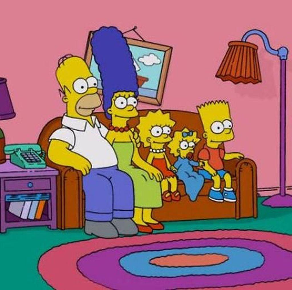 Tak Cuma Avengers, Thanos Juga Lenyapkan The Simpsons