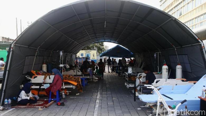 Pasien RSUD Mataram Mulai Dipindahkan ke Ruang Perawatan