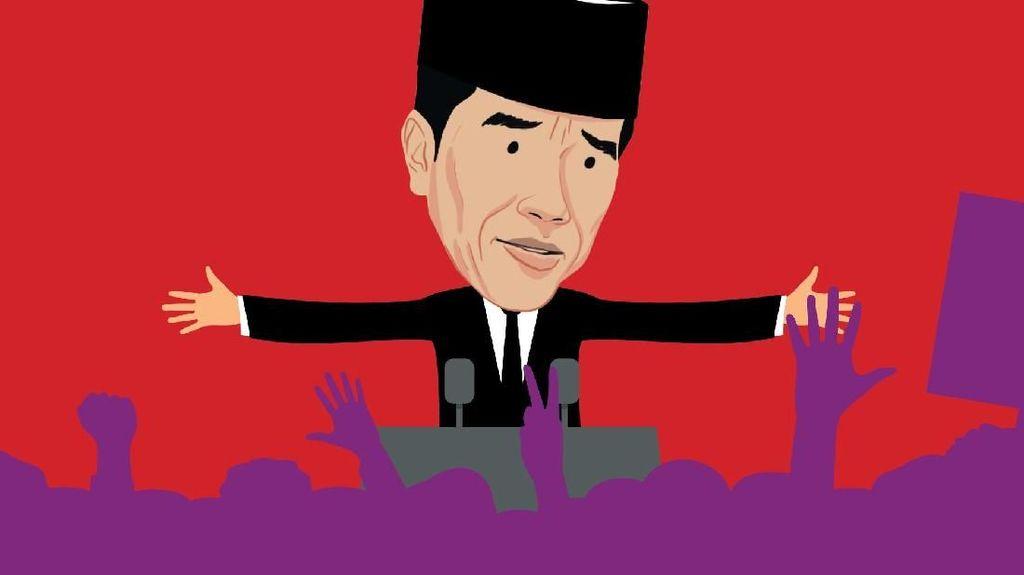 Timses Jokowi, Dulu Tim Sebelas Kini Tim 27