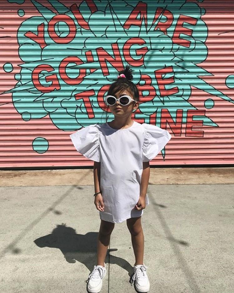Perkenalkan ini Hemingway Page, bocah asal Los Angeles yang gaya berpakaiannya kece banget. (Foto: Instagram @gypsylittle)