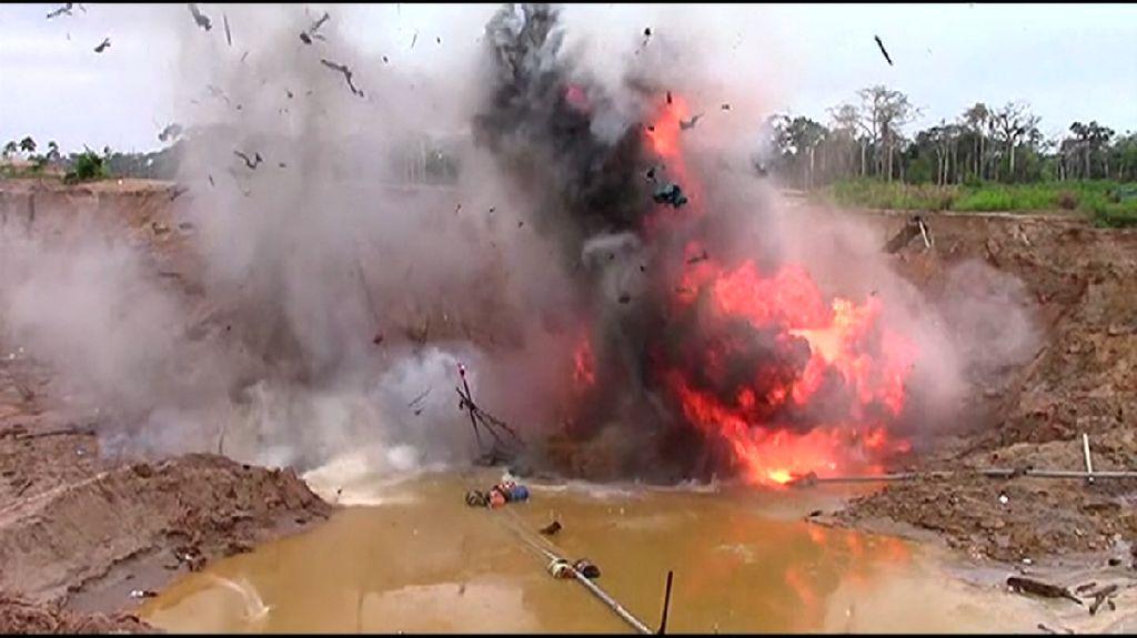 Peru Ledakkan Tambang Emas Ilegal Beromzet Miliaran Dolar
