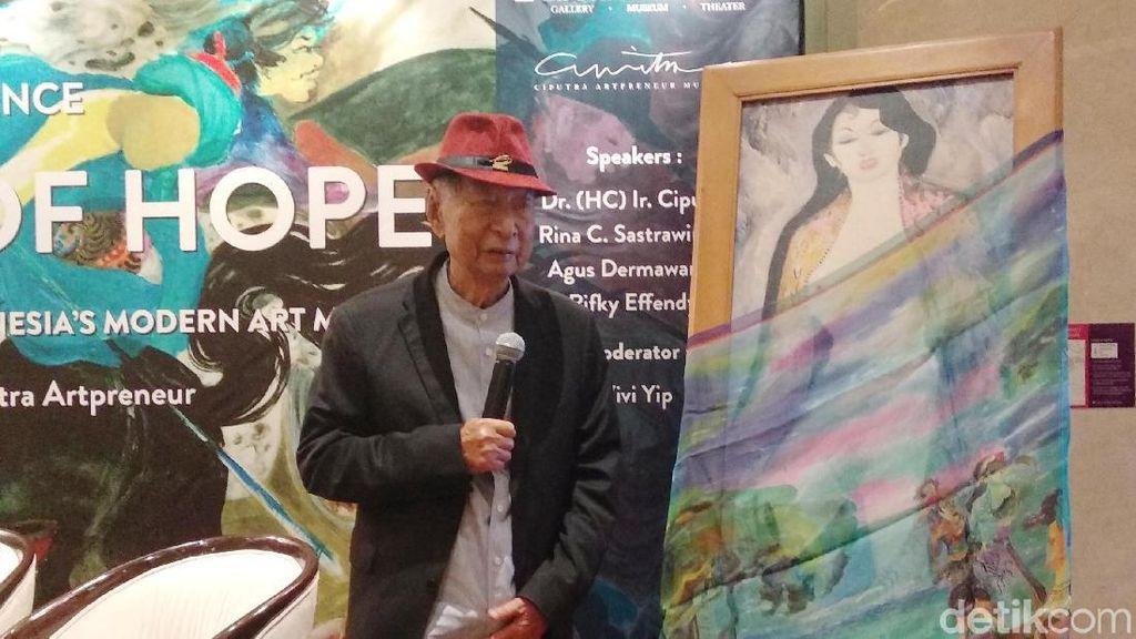 Di Balik Cerita Lukisan Telanjang Karya Hendra Gunawan