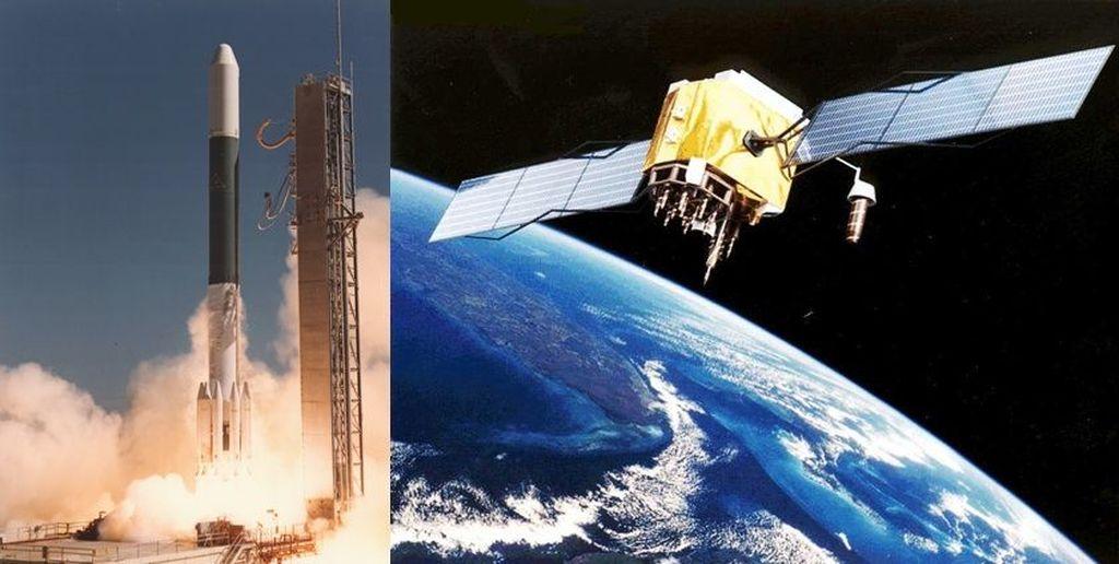 Satelit Palapa-A1 merupakan satelit pertama Indonesia yang dibuat oleh perusahaan Amerika Serikat, Hughes Aircraft Company. Satelit yang dikendalikan oleh Perumtel (sekarang Telkom) ini diluncurkan pada 9 Juli 1976 di Kennedy Space Center, Amerika Serikat dan mengorbit selama 7 tahun. (Foto: InfoAstronomy)