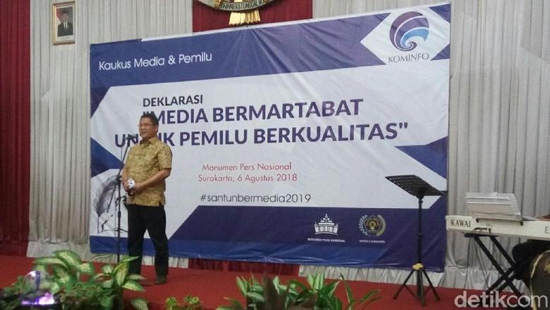 Jelang Pemilu, Kemenkominfo Bikin Gerakan Media Bermartabat