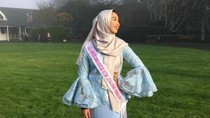Hijabers Berdarah Indonesia Jadi Top 5 Miss Universe New Zealand