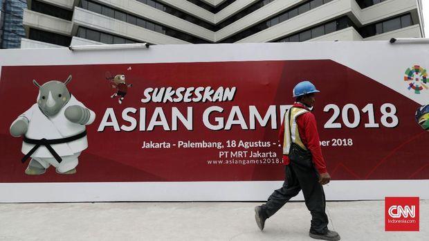 Publikasi Asian Games diminta dihilangkan jelang Asian Para Games 2018.