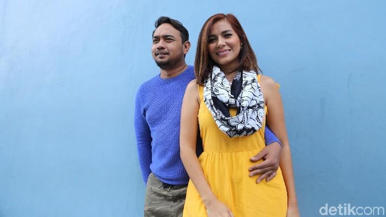 Bebi Romeo dan Meisya Siregar (Foto: Hanif/detikHOT)