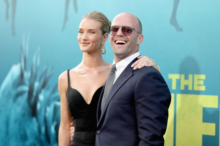 Jason Statham aktor berkepala botak. Foto: Getty Images