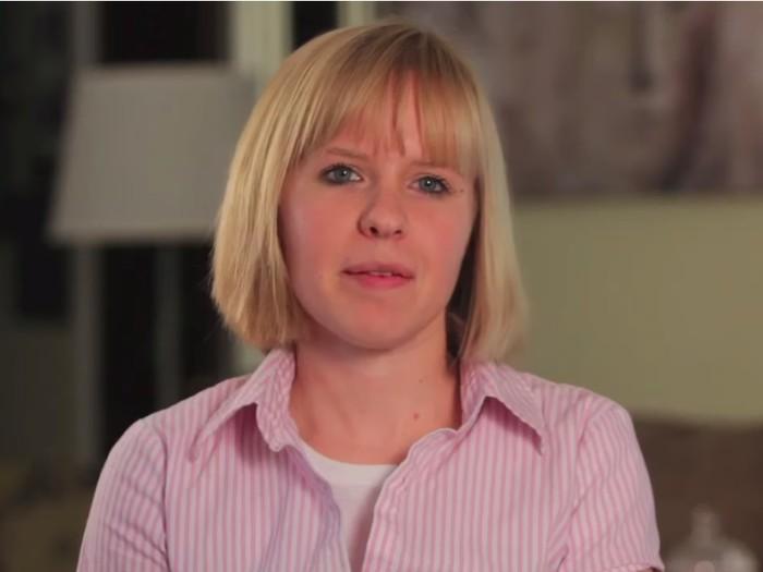 Christina sudah lebih dari 25 tahun hidup tanpa bagian kanan otaknya. (Foto: Youtube/ScientificAmericanPsychology)