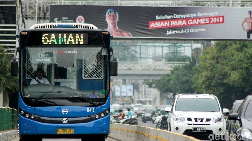 Rute TransJ Pondok Cabe-Tn Abang Diubah agar Tak Gesekan dengan Angkot