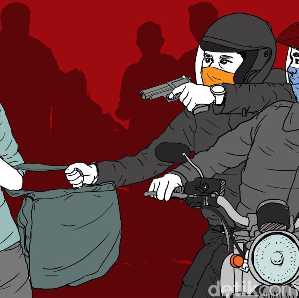 2 Pelaku Jambret Ditangkap Usai Beraksi di Tanjung Priok