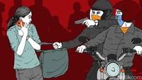 Penjambretan Makin Marak, Pedagang Jadi Korban di JPO Cilandak