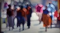 Out of Focus, Lukisan Blur Karya Philip Barlow