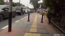 Ini Lokasi Pejalan Kaki Dipukul Pemotor di Trotoar Jatiwaringin