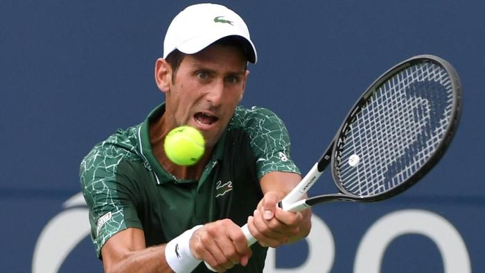 Novak Djokovic sukses melewati babak pertama turnamen Rogers Cup (Foto: Dan Hamilton-USA TODAY Sports)