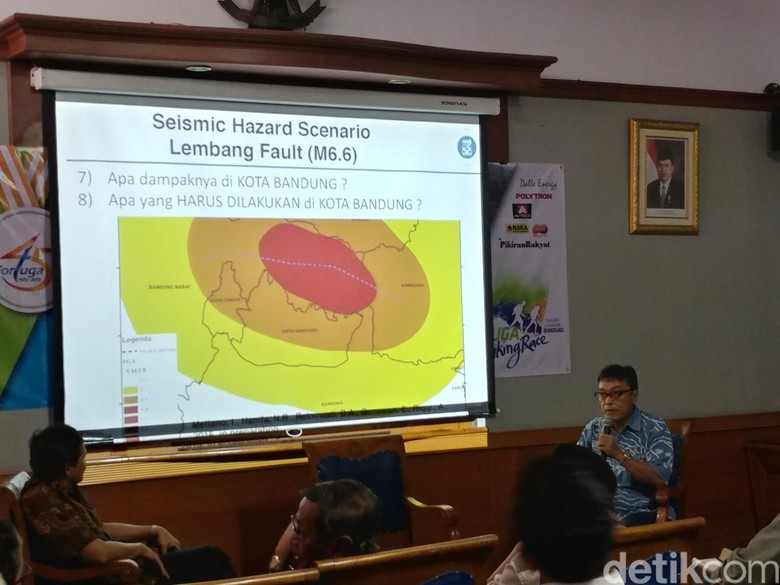 Sesar Lembang, Bahaya yang Mengintai Keindahan Kota Bandung
