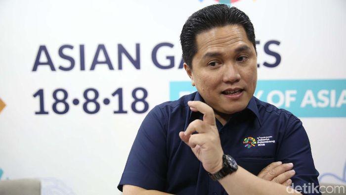 Erick Thohir, ketua INASGOC (Agung Pambudhy/detikSport)
