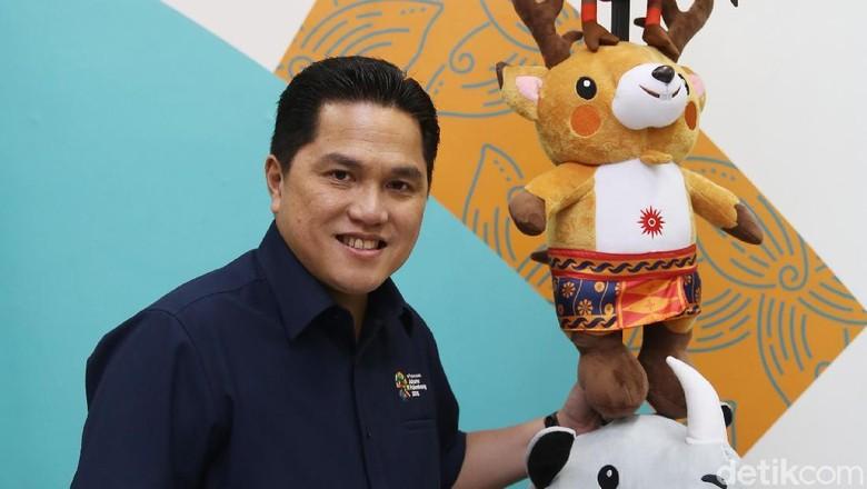 Tonton Blak blakan Erick Thohir, dari Asian Games ke Olimpiade