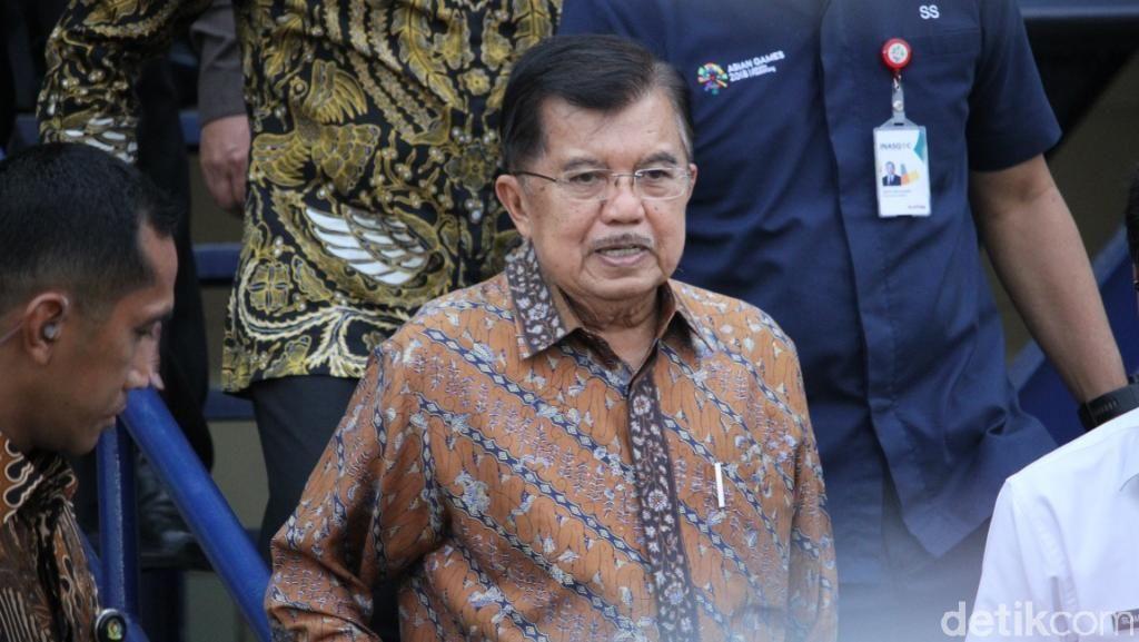 Jelang Asian Games 2018, Wapres JK Tinjau Stadion Si Jalak Harupat