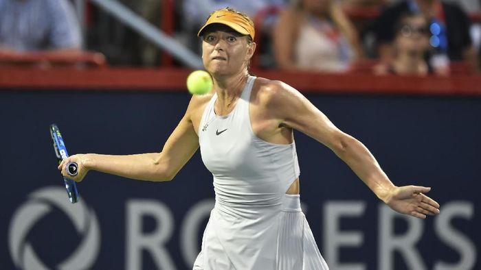 Maria Sharapova melewati babak pertama Rogers Cup (Foto: Minas Panagiotakis/Getty Images)
