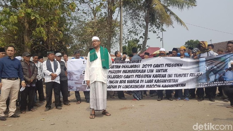 Keturunan Sultan Banten Tolak Deklarasi #2019GantiPresiden
