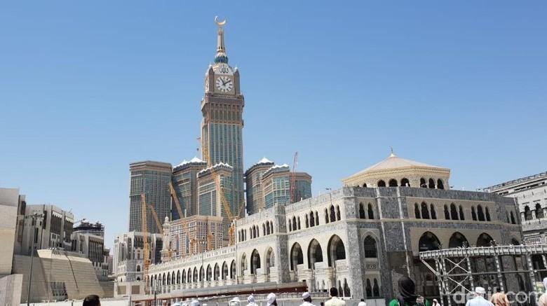 Zamzam Tower. Foto: Abraj Albait atau Zamzam Tower/Fajar Pratama detikcom