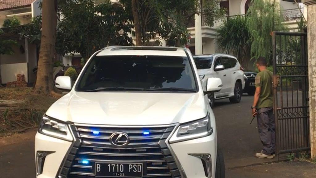 Mobil Prabowo Subianto